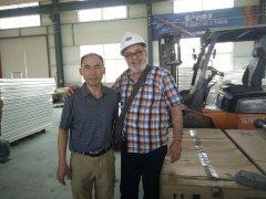 阿尔及利亚客户订购HRZ-6000M系列蛋托生产线