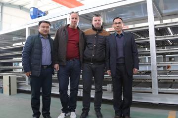 阿尔及利亚客户订购HRZ-3000M系列蛋托生产线